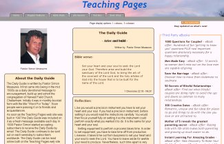 Teaching Pages